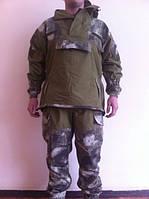 """Костюм военный горка 4 """"Барс"""" оливковый+A-Tacs"""