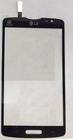 Тачскрин / сенсор (сенсорное стекло) для LG Optimus L80 D373 (черный цвет)