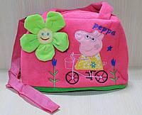 """Детская оригинальная, яркая сумочка """"Свинка Пеппа"""" для девочки"""
