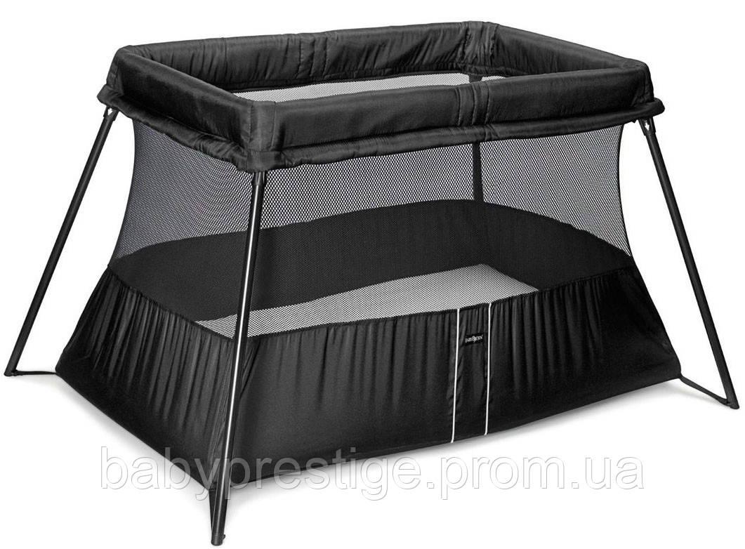 Складной манеж Babybjorn Travel Crib Light, черный
