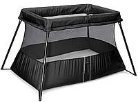 Складной манеж Babybjorn Travel Crib Light, черный, фото 1