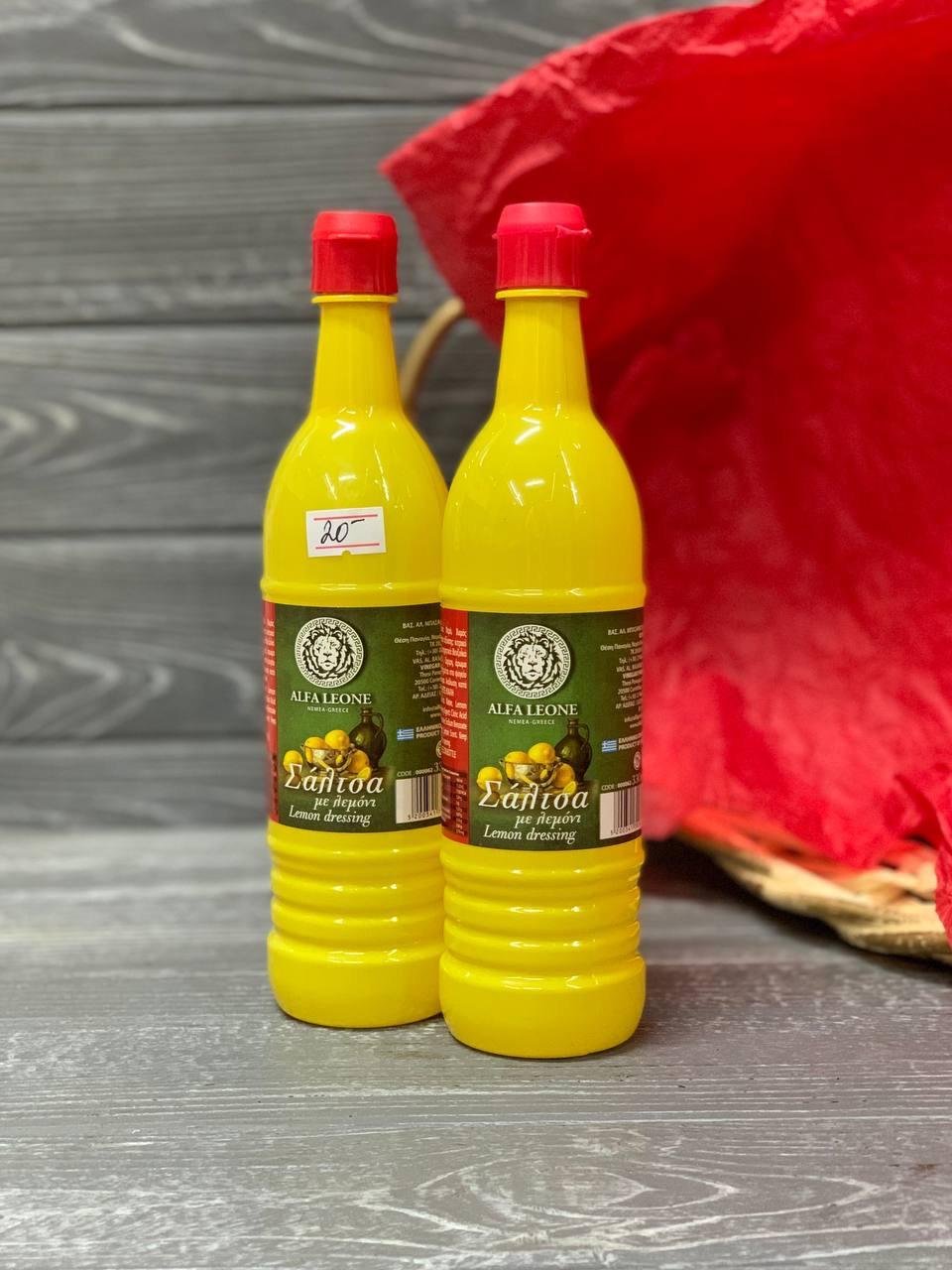Лимонний концентрат Lemon dressing Alfa Leone