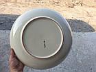 Тарілка ляган Середня Азія, Ручна робота, Риштанская глина, 32см, фото 4
