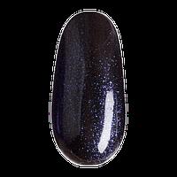 ГЕЛЬ ЛАК BMG 082, 10 мл (черный с синим оттенком, с шимерами)