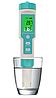Комбінований pH/TDS/EC/ORP/SALINITY/S. G./Temp - метр EZ COM-600 з термометром, змінним електродом, АТС