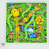 Настольная игра Змійки та драбинки 7335 Fun Game Змейка и лестницы, фото 3