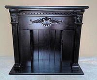 Деревянный каминный портал (декоративный)