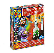 """Дитячий іграшковий набір для дослідів, Досліди для дітей """"Метеорологічна станція"""" від FUN GAME 7352"""