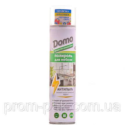 Полироль  для мебели ДОМО Антипыль (аэрозоль), фото 2