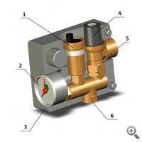 Группа безопасности котла Тип К мощностью до 50 кВт