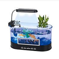Настольный мини аквариум Co2Pro Aqua- Tech Elliptic