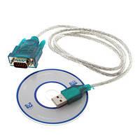 Переходник адаптер кабель USB RS232 DB9 COM c CD