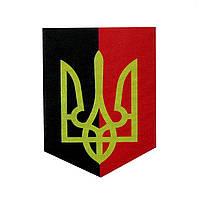 Магніт вимпел, магнит прапор УПА, патріотична символіка, магніт український, магніти оптом