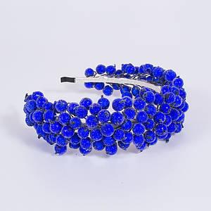 Український віночок-обруч для волосся Moderika Синя Калина