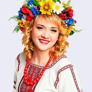 Український віночок-обруч для волосся Moderika зі стрічками
