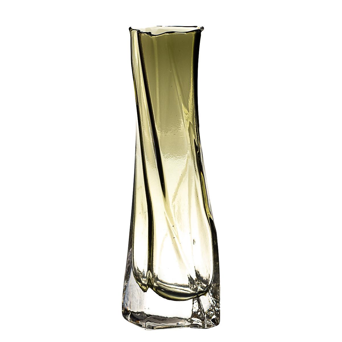 "Стеклянная ваза ""Силуэт"" 24 см 8426-021"