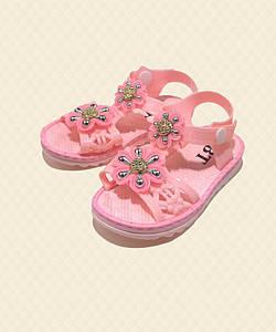 Босоножки для девочки розовые А3621-3