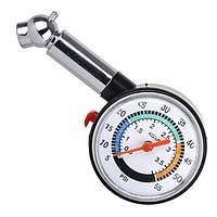 Измеритель давления в шинах стрелочный. INTERTOOL AT-1003