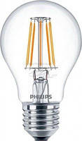 Светодиодная лампа 7,5W, E27, A60, LED Fila Philips