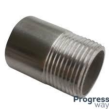 Резьба короткая стальная 1/2 дюйма