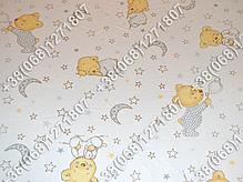 """Детское постельное белье в кроватку """"Бим Бом"""" комплект 6 ед. (мишка на месяце белый), фото 2"""