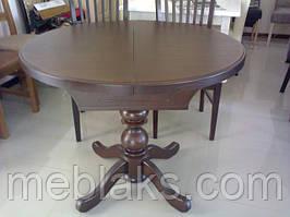Стол деревянный круглый раздвижной  «К 3» В НАЛИЧИИ