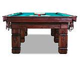 """Більярдний стіл для пулу """"ASKOLD"""", 9 футів, 260х130 см, Ардезія, TT BILLIARD, гарантія 2 роки, фото 2"""