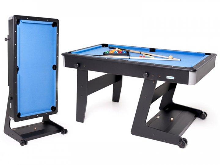 """Складаний більярдний стіл """"OSTIN"""", 5 футів, 160х83 см, TT BILLIARD, гарантія 2 роки"""
