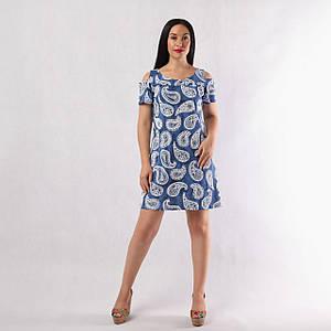 """Жіноче літнє плаття """"Наташа-Пінка"""" 44-56"""