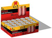 Батарейка Kodak EXTRA HEAVY DUTY R14 1x2 шт.