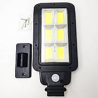 Фонарь уличный светильник аккумуляторный 2200mA на солнечной батарее 6 COB 20W LED Solar Street Light UKC