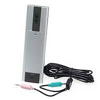 Интернет телефон-трубка Marksman, автономное питание, микрофон для интернета, устройство для интернет-звонков