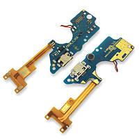 Роз'єм зарядки Tecno Pop 2F на платі з мікрофоном і компонентами (копія AA), фото 1