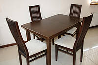 Стол деревянный раздвижной  «Явир 2»  1400(1800)х900