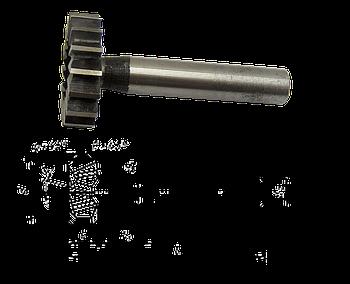 Фреза Т-подібна 10х1,0х6 Р6М5 циліндричний хвостовик