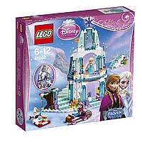 Конструктор оригинал Лего Ледяной замок Эльзы  Lego Elsa's Sparkling Ice Castle 41062