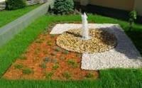 Мульча (декоративная  щепа, мульчирование) для  ландшафтного  дизайна