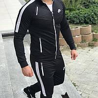 Мужской спортивный костюм Nike, черный Найк