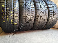 Зимние шины бу 245/45 R19 Pirelli