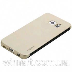 Чехол ROCK Dr.V Protective Case Gold для Samsung Galaxy S6