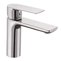 Смеситель на раковину в ваннуюа Haiba ALEX 001 однорычажный латунный литой кран для умывальника на шпильке