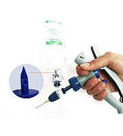 Шприц ветеринарный автоматический (высокопрочный пластик) 5 кубовый