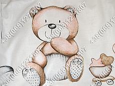 """Детское постельное белье в кроватку """"Бим Бом"""" комплект 7 ед. (мишка сердце), фото 3"""