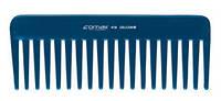Comair Расчёска-гребень для расчесывания и распрямления волос, синяя, целкон, 16 см