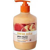 Крем-мило Fresh Juice Peach&Magnolia, 460 мл