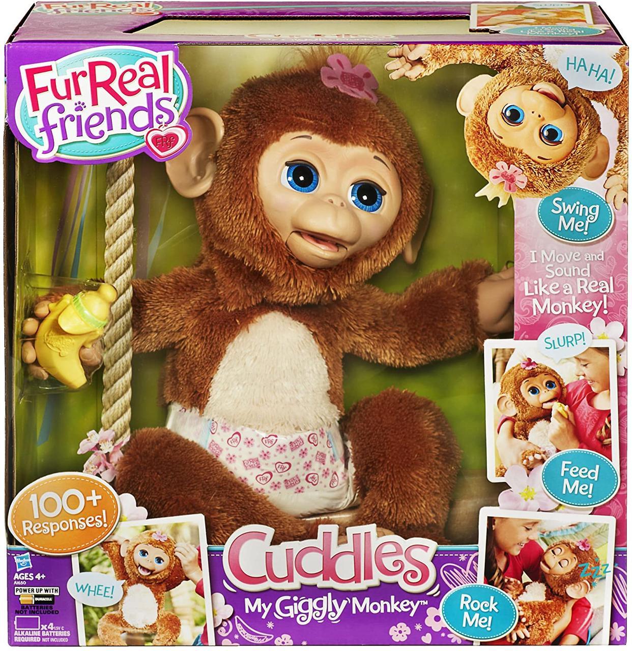 Интерактивная обезьянка Фурриал FurReal Friends