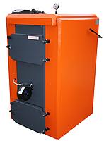 Промышленный пиролизный твердотопливный котел с газификацией древесины КОТэко Unika 130, фото 1