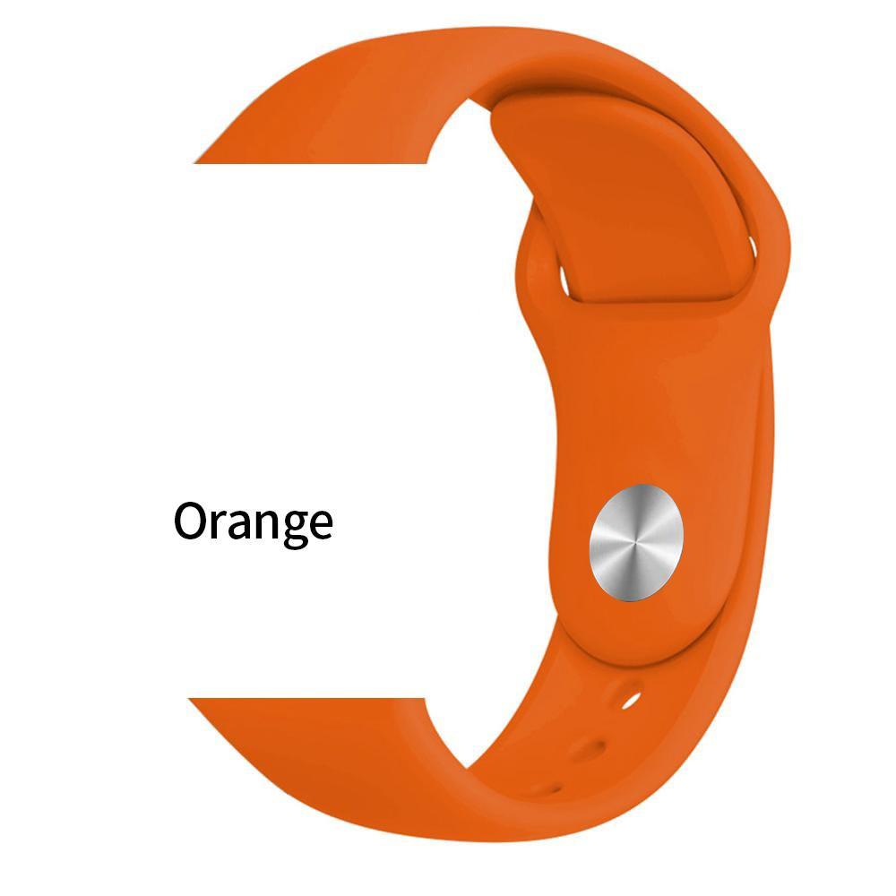 Силиконовый браслет ремешок  для часов  Apple Watch 42 мм