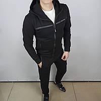 Мужской чёрный спортивный костюм Prada