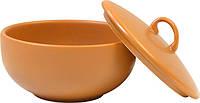 Сахарница керамическая с крышкой Keramia 24-237-010 Теракота